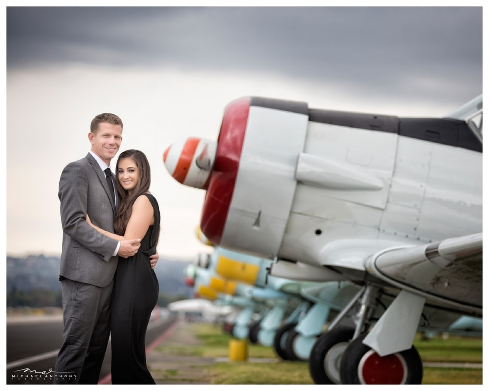 Nikki and Matt's Airport Engagement Session in Los Angeles, Michael Anthony Photography Blog: Los Angeles Wedding Photography