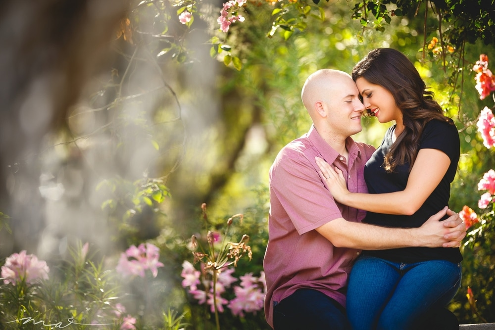 A Beautiful Descanso Gardens Engagement Session in Los Angeles, Michael Anthony Photography Blog: Los Angeles Wedding Photography